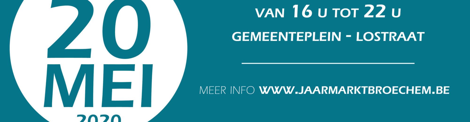 57ste Jaarmarkt Broechem – 11-14 september 2020